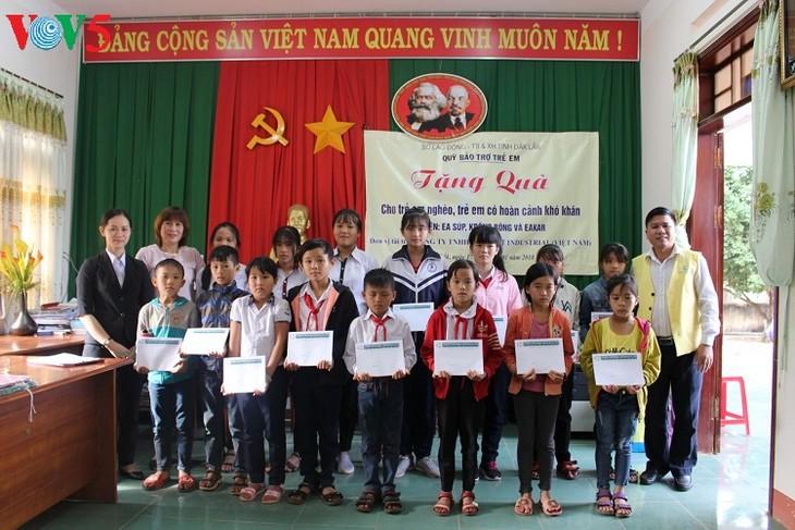 Quỹ hỗ trợ trẻ em tỉnh Đắk Lắk, hy vọng của trẻ em nghèo - ảnh 1