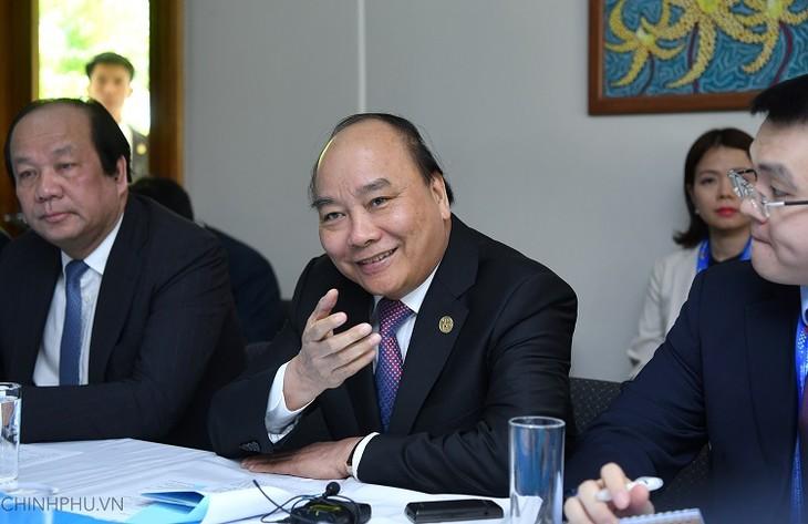 Thủ tướng Nguyễn Xuân Phúc tiếp Liên minh doanh nghiệp Hoa Kỳ - ảnh 1