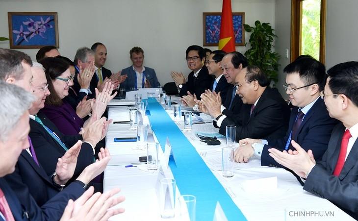 Thủ tướng Nguyễn Xuân Phúc tiếp Liên minh doanh nghiệp Hoa Kỳ - ảnh 2