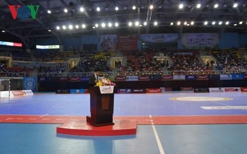 Hơn 3.000 khán giả dự Lễ khai mạc giải Futsal HDBank Cúp Quốc gia 2018 - ảnh 1