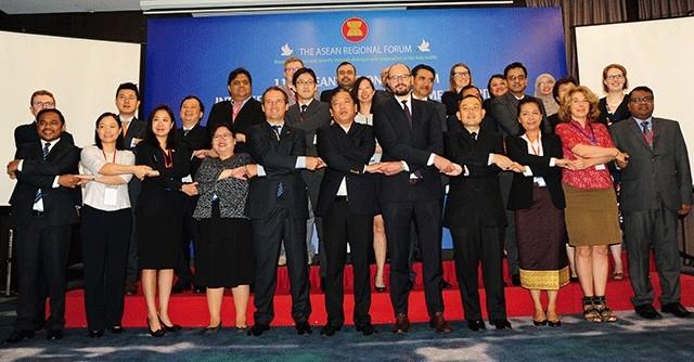 Bế mạc Cuộc họp lần thứ 11 Nhóm giữa kỳ Diễn đàn Khu vực ASEAN về An ninh biển - ảnh 1