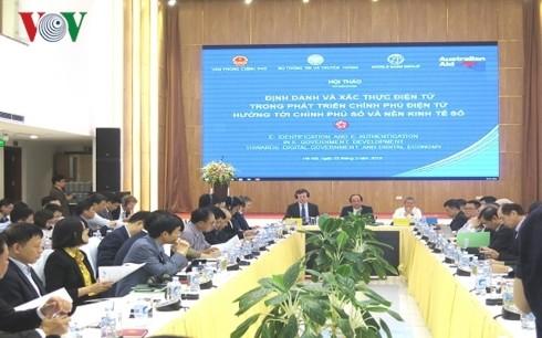 Phát triển Chính phủ điện tử hướng tới Chính phủ số và nền kinh tế số - ảnh 1