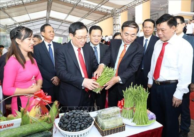 Phó Thủ tướng Vương Đình Huệ: Xây dựng nông thôn mới gắn với tái cơ cấu nông nghiệp, phát triển, kết nối với đô thị - ảnh 1