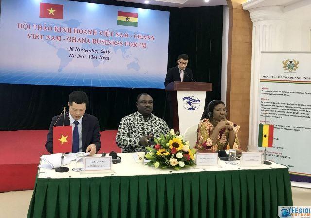 Thúc đẩy quan hệ thương mại Việt Nam - Ghana  - ảnh 1
