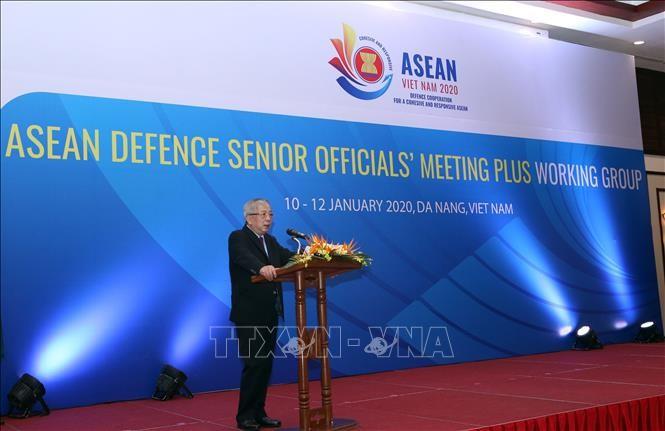 Khai mạc Hội nghị Nhóm làm việc quan chức quốc phòng cấp cao ASEAN mở rộng - ảnh 1