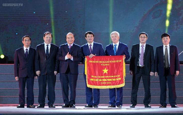 Thủ tướng Nguyễn Xuân Phúc dự kỷ niệm 120 năm ngày ra đời ngành xi măng Việt Nam - ảnh 1