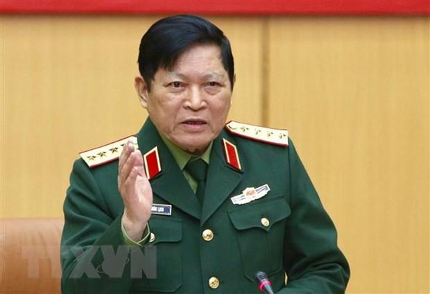 Đoàn đại biểu quân sự cấp cao Việt Nam thăm Liên bang Nga - ảnh 1