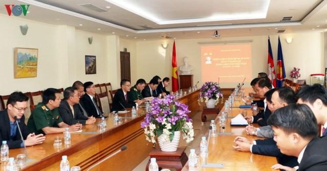 Đại sứ quán Việt Nam tại Campuchia kỷ niệm 90 năm ngày thành lập Đảng - ảnh 1