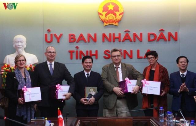 Đại sứ đặc mệnh toàn quyền các nước Bắc Âu thăm và làm việc tại tỉnh Sơn La  - ảnh 1