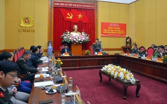 Trưởng Ban Tuyên giáo Trung ương Võ Văn Thưởng dự tổng kết Ban Chỉ đạo 35 Bộ Công an - ảnh 1