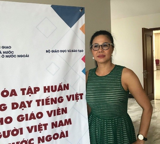 Nỗ lực truyền dạy tiếng Việt nơi xa xứ - ảnh 1
