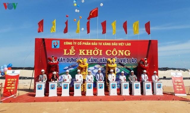 Gần 470 tỷ đồng xây dựng kho cảng xăng dầu Việt Lào - ảnh 1