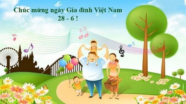 Tháng 6/2020 diễn ra nhiều hoạt động mừng Ngày Gia đình Việt Nam - ảnh 1
