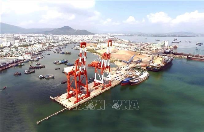 Cảng Quy Nhơn chính thức khai trương tuyến dịch vụ vận tải đi Đông Bắc Á - ảnh 1