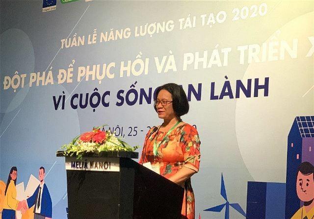 Tuần lễ năng lượng tái tạo Việt Nam 2020: Khuyến khích phát triển nguồn năng lượng tái tạo - ảnh 1