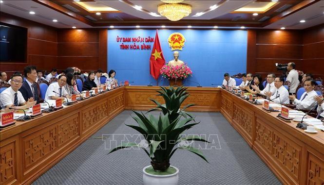 Giới thiệu tiềm năng, lợi thế của tỉnh Hòa Bình tới các doanh nghiệp Hàn Quốc - ảnh 1