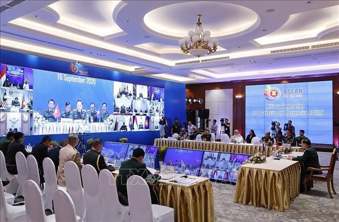 Hợp tác quân sự vì một ASEAN gắn kết và chủ động thích ứng - ảnh 1