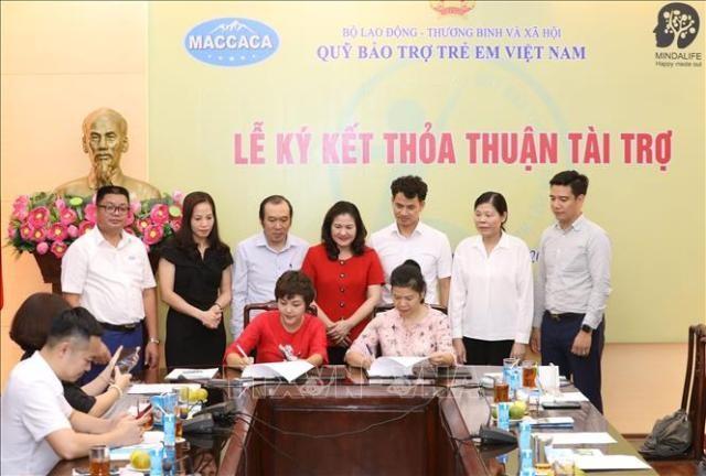 Hỗ trợ cho trẻ em khó khăn thông qua Quỹ Bảo trợ trẻ em Việt Nam  - ảnh 1