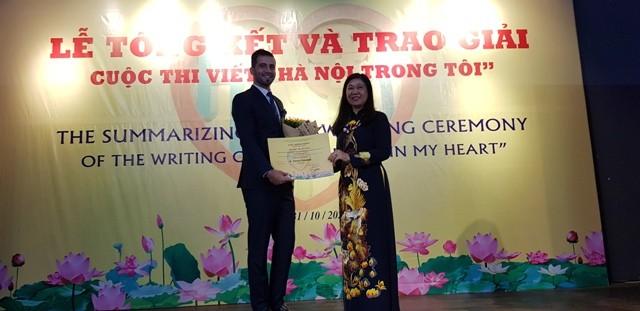 Lan tỏa tình yêu Hà Nội tới người nước ngoài qua cuộc thi viết Hà Nội trong tôi - ảnh 2