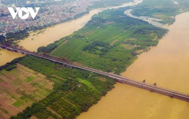 Hà Nội phát triển đô thị xanh hai bên sông Hồng  - ảnh 1