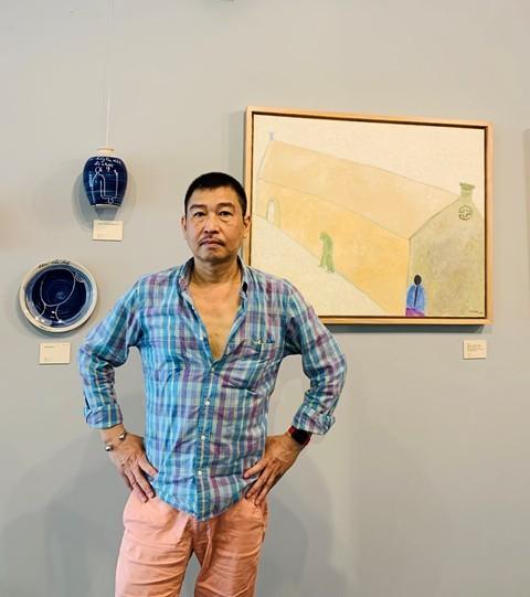 """Khai mạc triển lãm tranh """"Về bến lạ"""": hội họa cảm hứng từ thi ca - ảnh 3"""