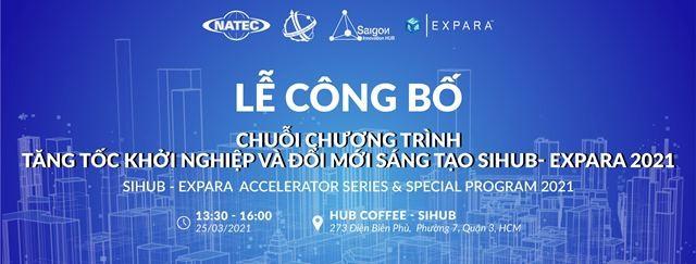 Thành phố Hồ Chí Minh: Công bố chuỗi chương trình Sihub - Expara năm 2021 - ảnh 1