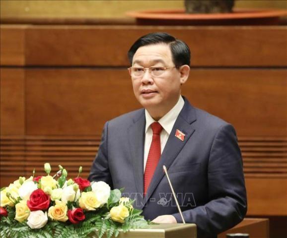 Campuchia chúc mừng Chủ tịch Quốc hội Vương Đình Huệ - ảnh 1