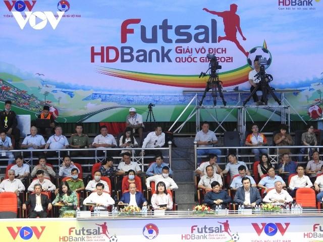 Khai mạc Giải Futsal HDBank Vô địch quốc gia 2021 - ảnh 1