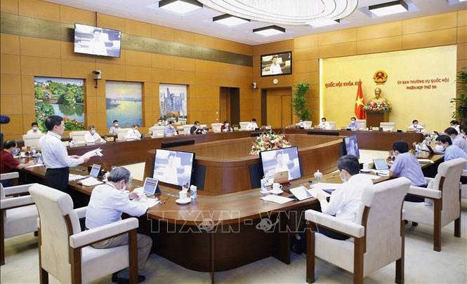 Khai mạc phiên họp 57 của Ủy ban Thường vụ Quốc hội - ảnh 1
