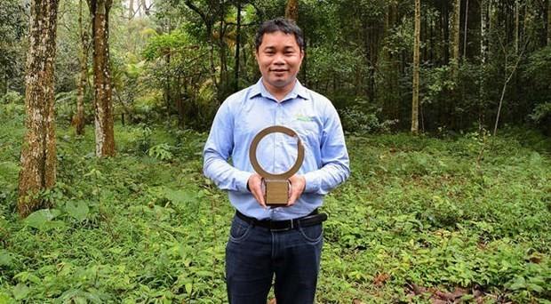 Nhà bảo tồn Việt Nam đầu tiên nhận giải thưởng lớn nhất thế giới về môi trường - ảnh 1