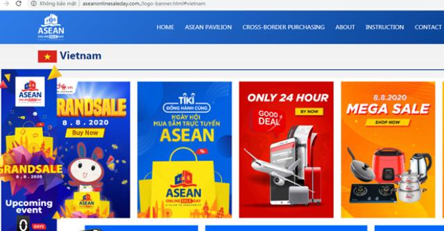 Khởi động chương trình Ngày mua sắm trực tuyến lớn nhất ASEAN 2021 - ảnh 1