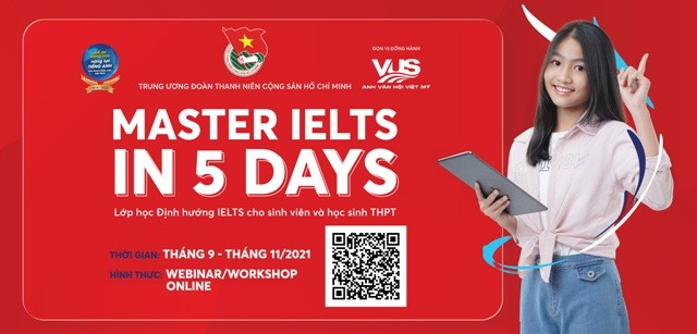 """Học trực tuyến """"Master IELTS in 5 days"""" dành cho học sinh, sinh viên - ảnh 1"""