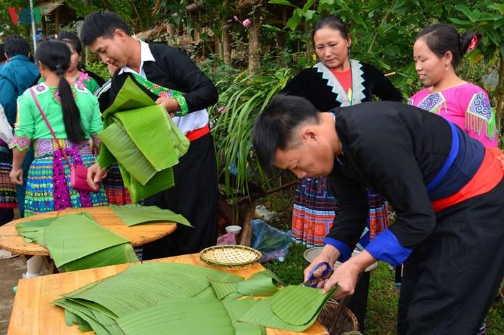 Bánh giầy trong đời sống đồng bào Mông Tây Bắc - ảnh 5