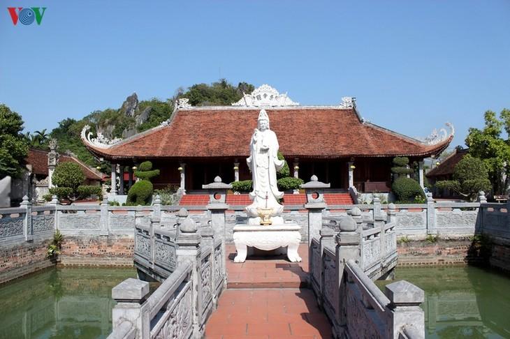 Chùa Cảnh Huống - điểm nhấn trong tour du lịch làng quê Yên Đức - ảnh 1
