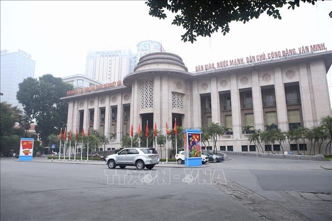 Hà Nội rực rỡ cờ, hoa mừng 90 năm Ngày thành lập Đảng - ảnh 8
