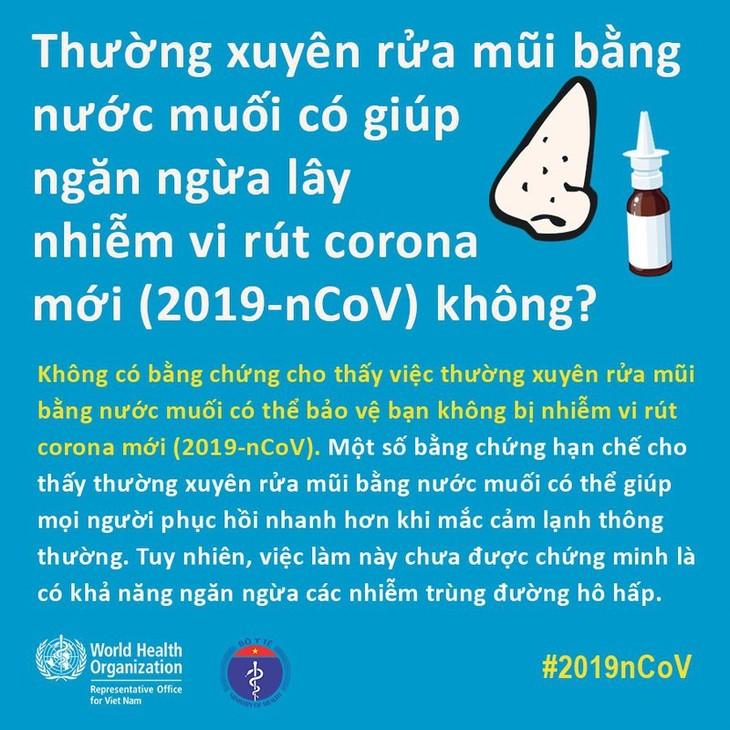 WHO và Bộ Y tế giải đáp mọi thắc mắc về chống virus corona - ảnh 6