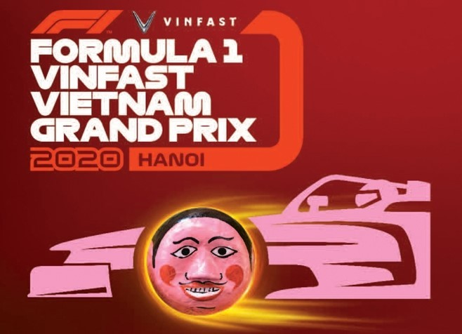 Nét văn hóa truyền thống trên vé F1 Việt Nam Grand Prix - ảnh 4