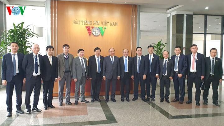 Hình ảnh: Thủ tướng Nguyễn Xuân Phúc thăm và làm việc với VOV - ảnh 19