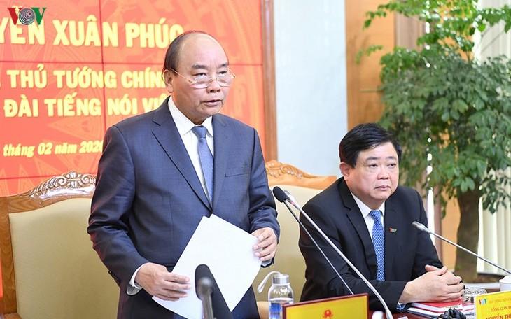 Hình ảnh: Thủ tướng Nguyễn Xuân Phúc thăm và làm việc với VOV - ảnh 14