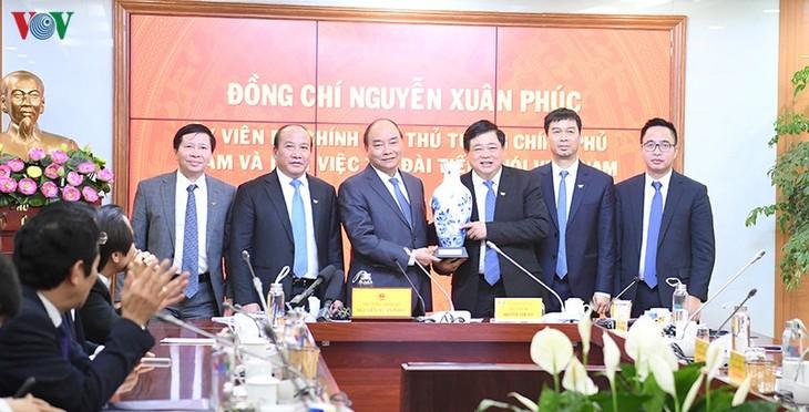Hình ảnh: Thủ tướng Nguyễn Xuân Phúc thăm và làm việc với VOV - ảnh 17