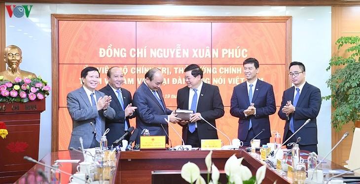 Hình ảnh: Thủ tướng Nguyễn Xuân Phúc thăm và làm việc với VOV - ảnh 18