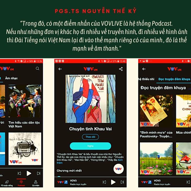 PGS.TS Nguyễn Thế Kỷ: VOVlive sẽ sớm được công chúng đón nhận, lan tỏa giá trị của Đài Tiếng nói Việt Nam - ảnh 2