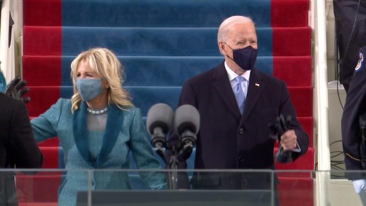 Trực tiếp: Ông Joe Biden chính thức trở thành Tổng thống Mỹ thứ 46 - ảnh 9