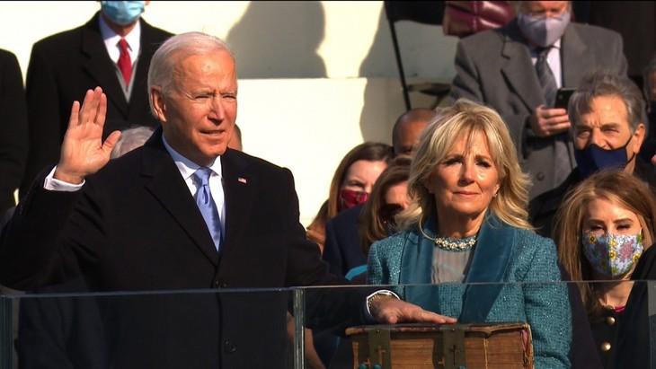 Trực tiếp: Ông Joe Biden chính thức trở thành Tổng thống Mỹ thứ 46 - ảnh 8