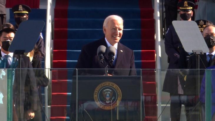 Trực tiếp: Ông Joe Biden chính thức trở thành Tổng thống Mỹ thứ 46 - ảnh 7