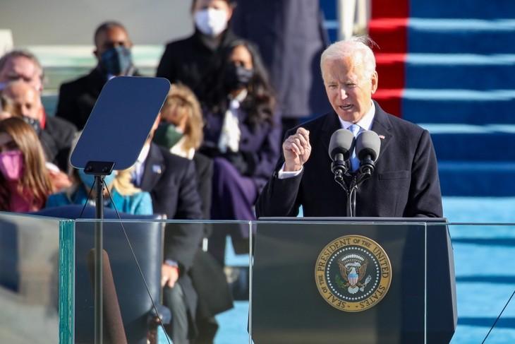 Trực tiếp: Ông Joe Biden chính thức trở thành Tổng thống Mỹ thứ 46 - ảnh 2