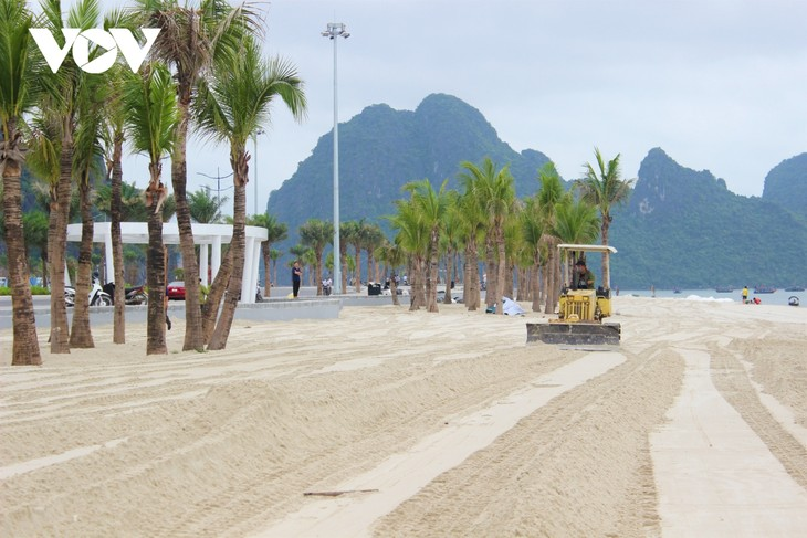 Bãi tắm mới trên đường bao biển Hạ Long sẽ khai trương dịp nghỉ lễ 30/4 - ảnh 4