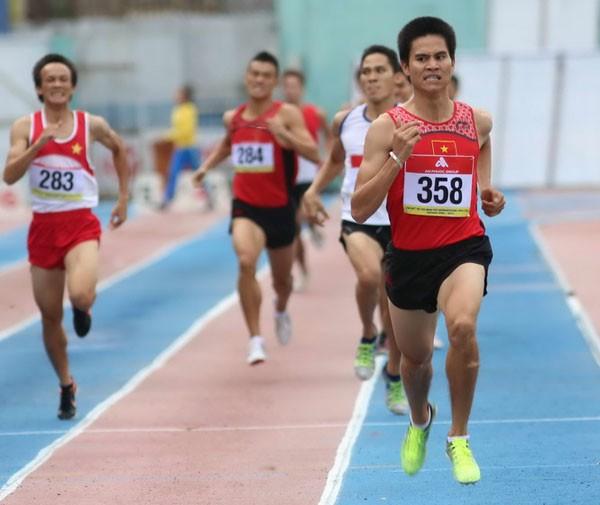 Abanderado Vietnam en torneo internacional de atletismo en Ciudad Ho Chi Minh - ảnh 1