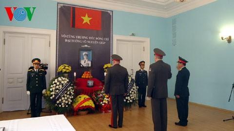 Siguen homenajeando a Vo Nguyen Giap en diferentes países - ảnh 1