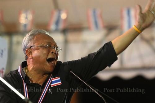Tribunal de Tailandia ordena detención de líder de manifestaciones - ảnh 1